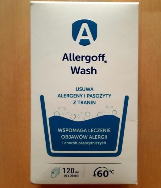 Противоаллергенная добавка в стирку и спрей Allergoff