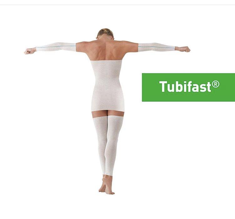 Использование Tubifast для защиты поврежденной кожи